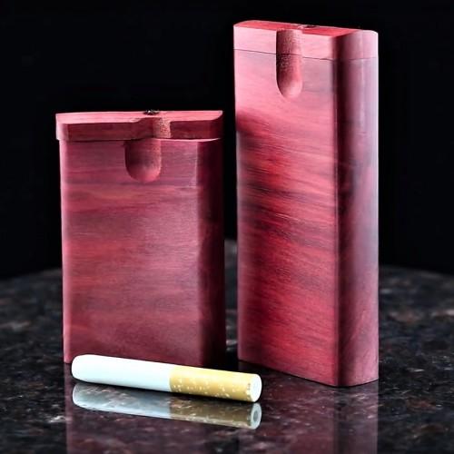 Bob Harris' Redheart Wood Dugout