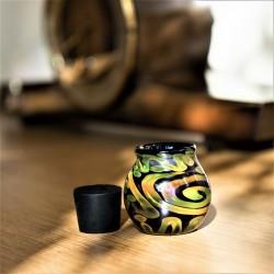 Fumed Disco Jar